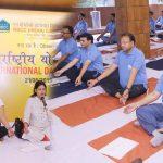 NBCC Observes International Day Yoga