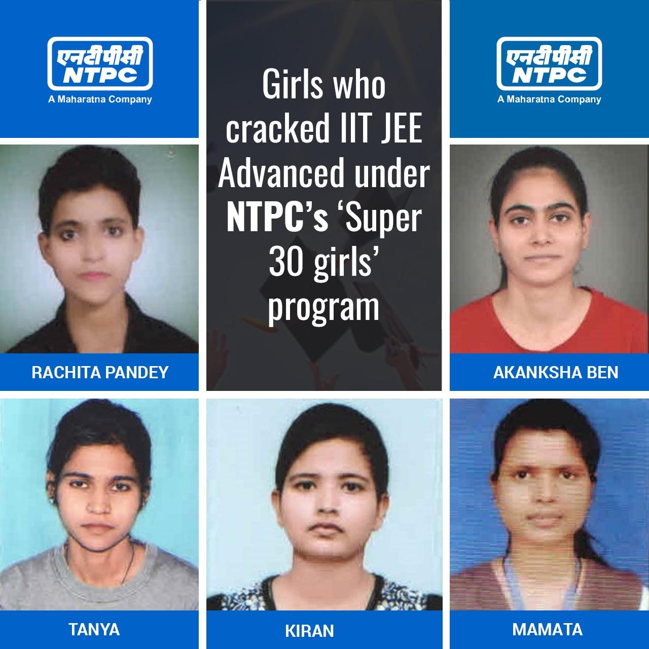 NTPC's 'Super 30 Girls' shine at IIT JEE