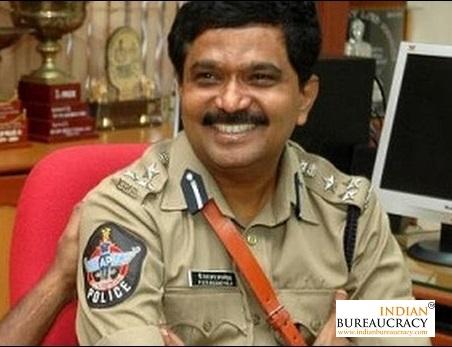 P Sitharama Anjaneyulu IPS