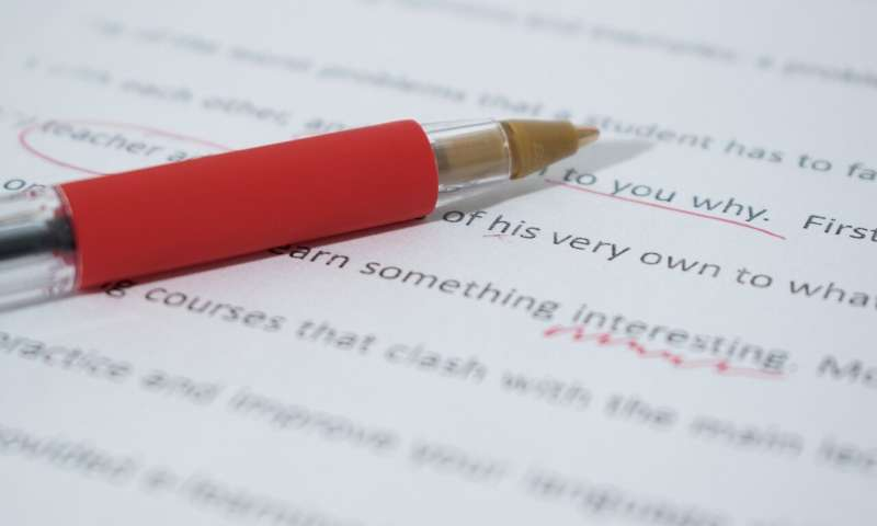 Tempted to cheat on a written exam? Artificial intelligence is 90% certain to nab you
