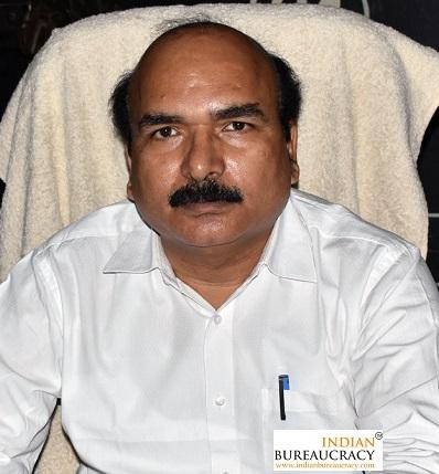 Udai Bhanu Tripathi IAS