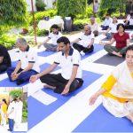 Yoga Day at POSOCO