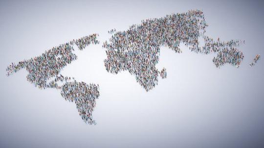 Global population concept