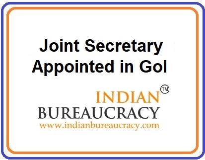 Joint Secretary Appointment