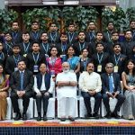 Narendra Modi with the Assistant Secretaries (IAS Officers of 2017 batch),
