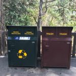 National trash Reducing waste produced in US national parks