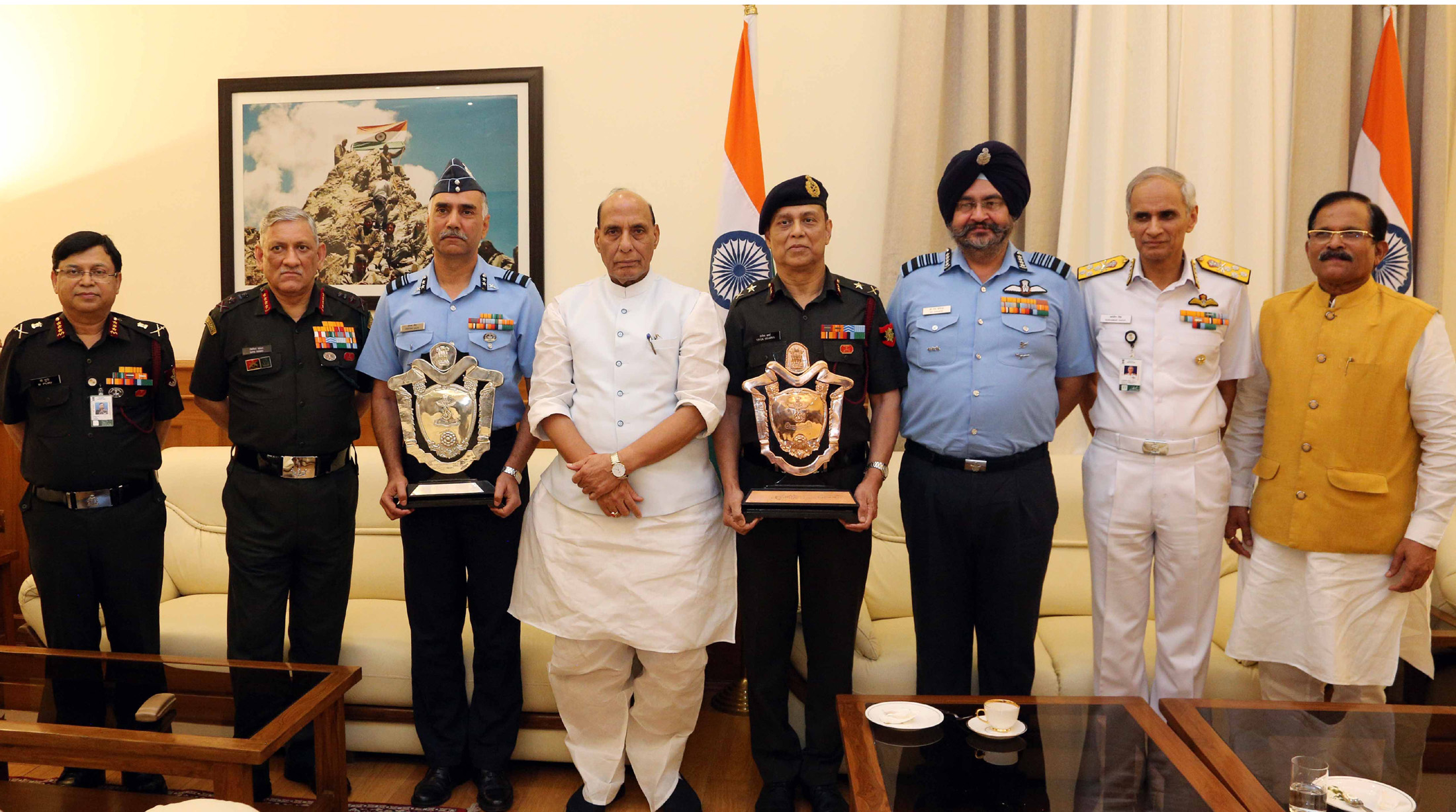 Raksha Mantri Trophy for Best Command Hospitals