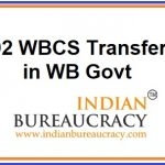 92 WBCS Officers transfers in West Bengal Govt