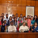 A group of Indian Origin youth visiting India under Know India Programme' (KIP)