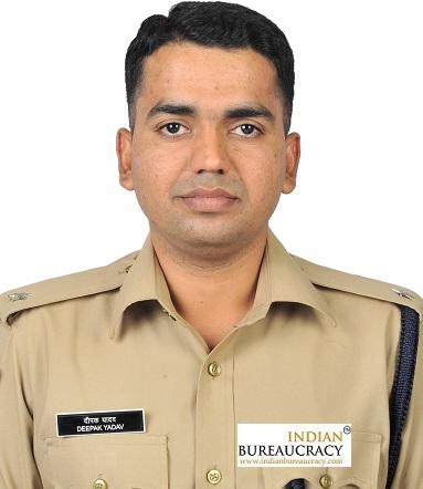 Deepak Yadav IPS AGMUT