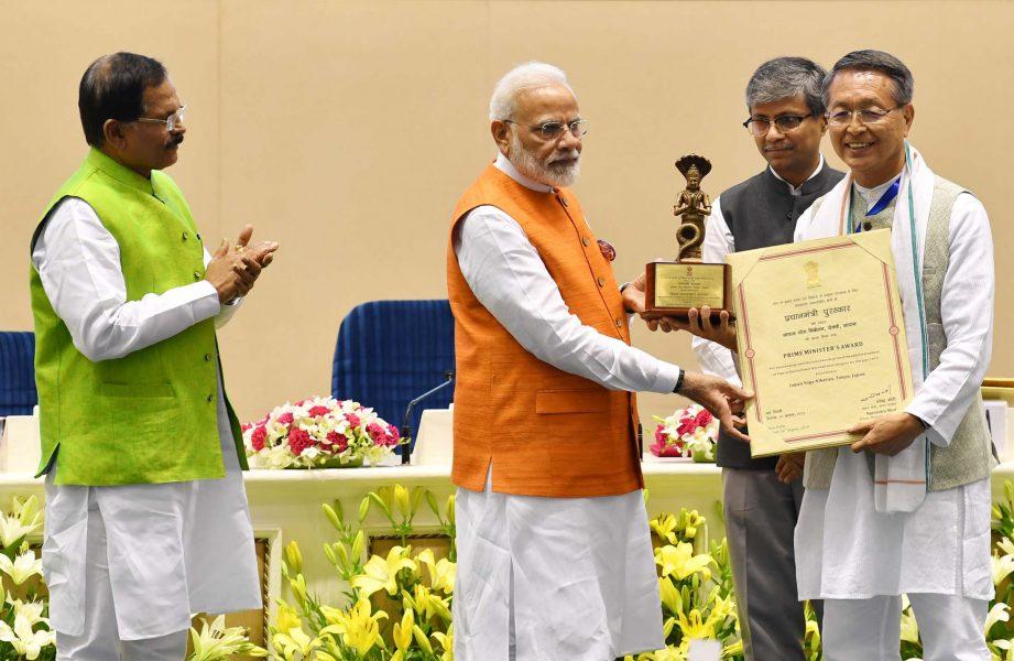Prime Minister confers Yoga Awards