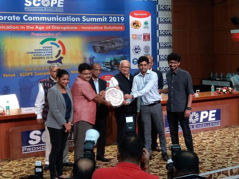 REC shines at SCOPE Awards