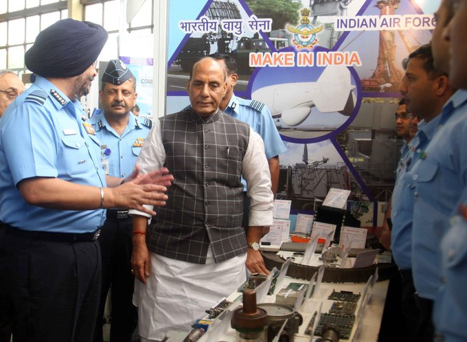 Raksha Mantri Shri Rajnath Singh calls for increased private sector participation in Make in India in Defence