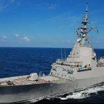Spanish Navy Ship Mendez Nunez on visit to Goa