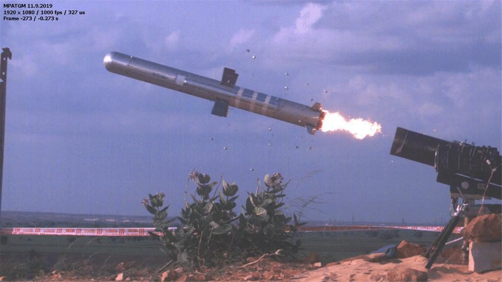 DRDO successfully flight-tests indigenously developed low weight, fire & forget Man Portable Antitank Guided Missile
