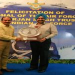 IAF felicitates Marshal of the Air Force & Mrs Arjan Singh Trust