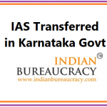 IAS Karnataka Reshuffle
