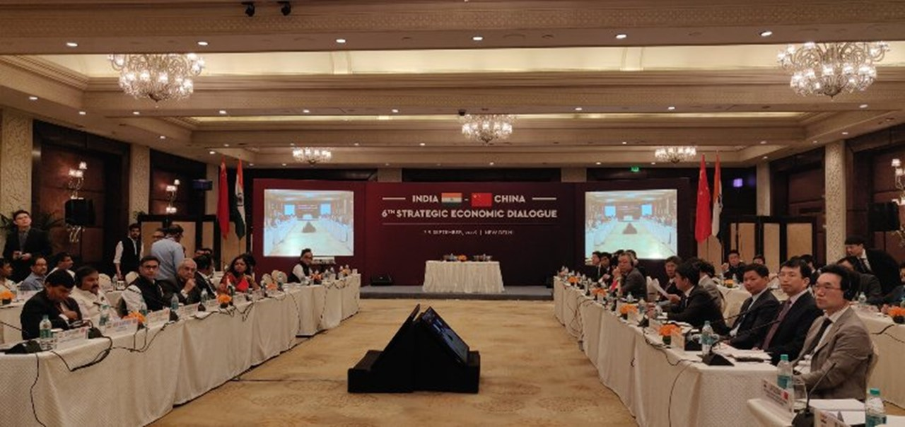 India-China Strategic Economic Dialogue concludes