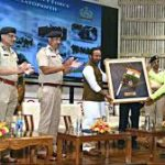 MoS for Home Affairs felicitates Mount Satopanth conquerors of CISF