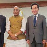 Raksha Mantri invites South Korean Defence manufacturing companies to invest in India