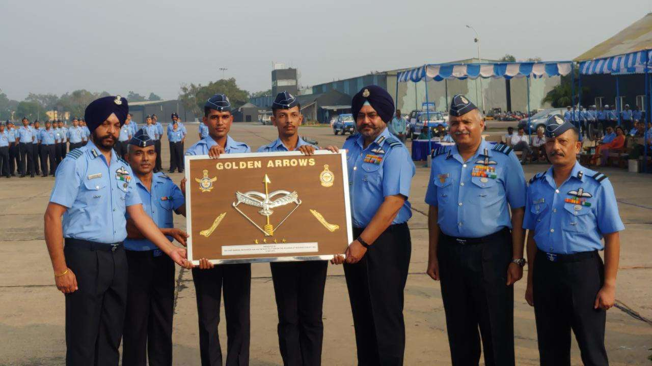 Resurrection Ceremony for 17 Squadron 'GOLDEN ARROWS'