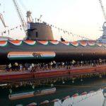 """second Scorpene submarine""""KHANDERI"""