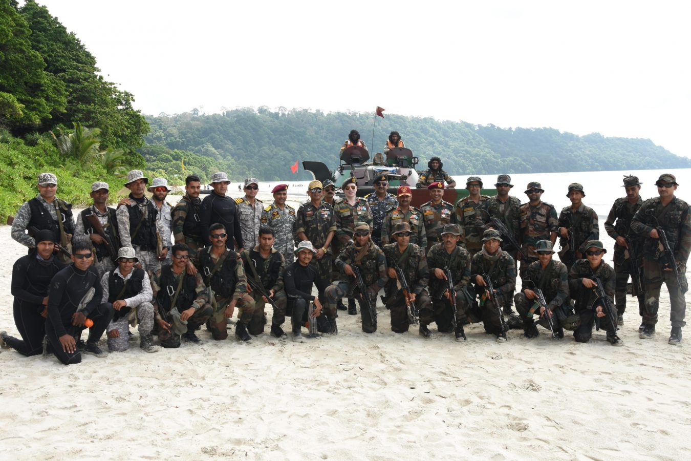 Defence of Andaman and Nicobar Islands exercise 2019