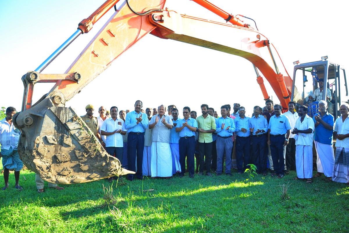 Desilting and Restoration of Kothavachery Tank in KurinjipadiTaluk