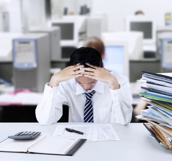 How exercise helps busting office stress