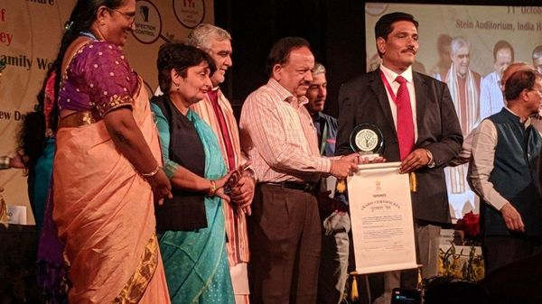 Kayakalp awards to Public and Private Health Facilities,