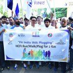 Kiren Rijiju flags off 'Fit India Plog Run' at Indira Gandhi Stadium
