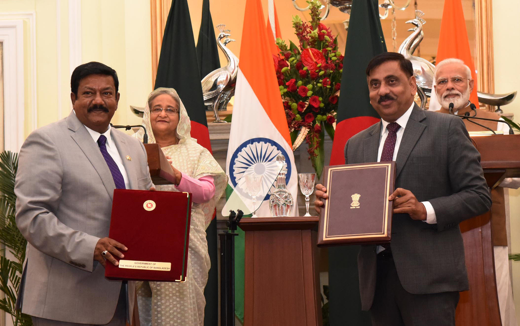 MoUs, Agreements exchanged during Official Visit of Bangladesh PM to India