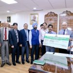 NFL Presents Dividend of over 28.22 of 28.22 Crore Rupees to the Govt. of India