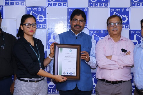 NRDC now become an ISO-9001-2015 Certified Organisation