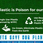 NTPC Bans Single Use Plastic