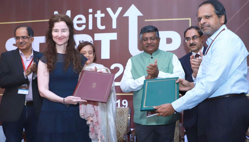 Prasad unveils new initiatives to mark first MeitY Start-up Summit