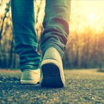 Slower walkers have older brains and bodies at 45