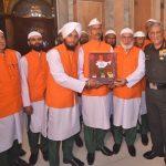 COAS Gen Bipin Rawat interacts with religious teacher