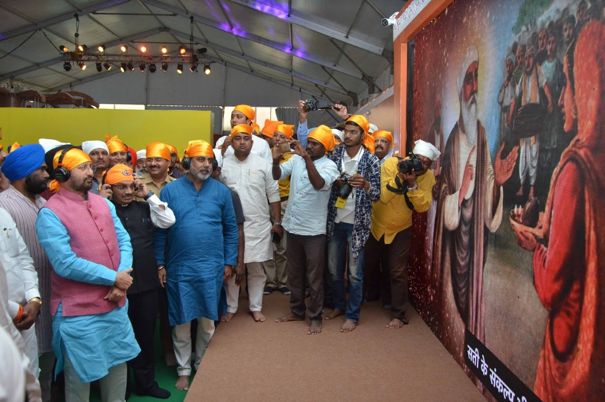 I&B organises Photo Exhibition on the occasion of Guru Purab,Hyderabad