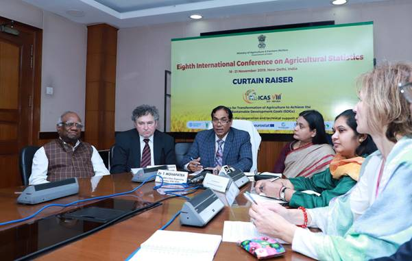 India to host the 8th International Conference on Agricultural Statistics