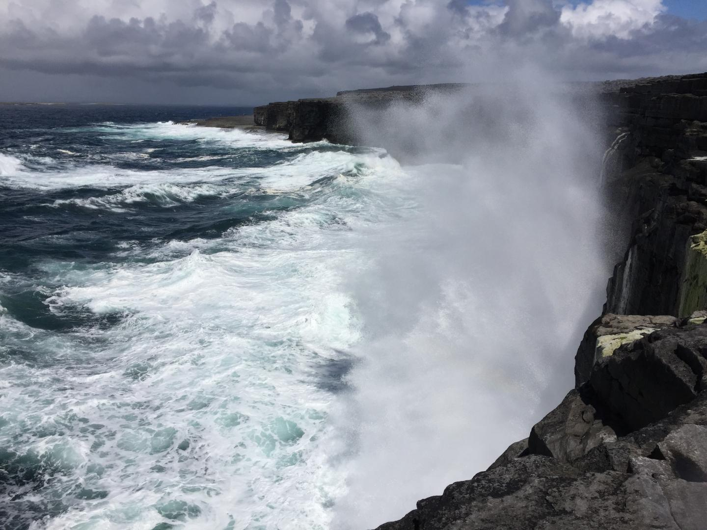 Research on large storm waves could help lessen their impact on coasts