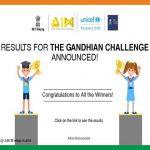 Winners of the Gandhian Challenge announced; 30 children awarded