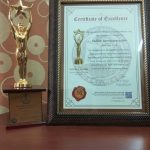 Best News Portal Award and Trophy