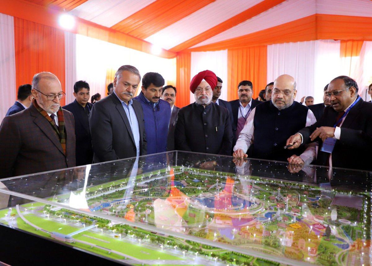 Home Minister lays Foundation Stone of Bharat Vandana Park