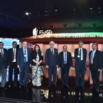 """India Pavilion at COP-25 in Madrid, Spain celebrating """"150 Years the Mahatma"""