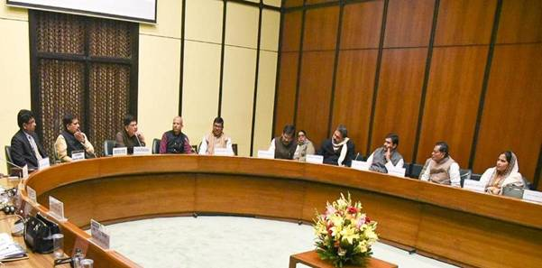 Meeting of Parliamentary Consultative Committee of MPs for the Ministry of Railways