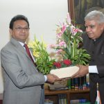 OFB Chairman called on His Excellency, the Governor of West Bengal