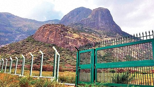 Planned Neutrino Observatory in Tamil Nadu