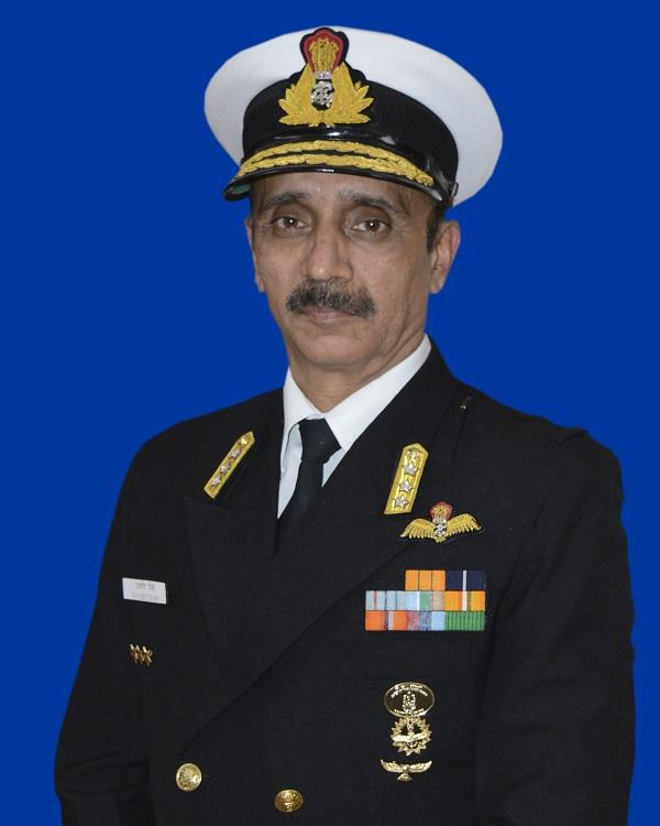 Vice Admiral Ravneet Singh AVSM