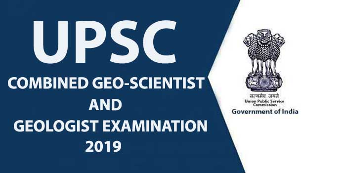 Combined Geo-Scientist and Geologist Examination, 2019